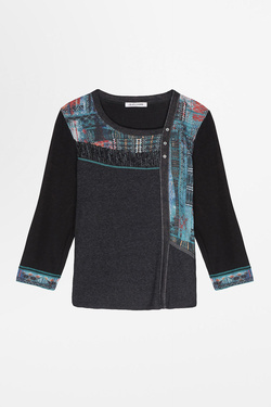 Pull CHRISTINE LAURE A0427 Gris