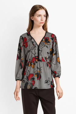 Blouse CHRISTINE LAURE A4058 Ecru