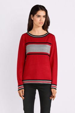 Pull CHRISTINE LAURE A4282 Rouge
