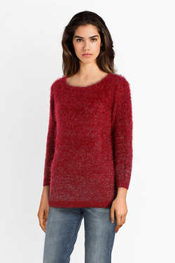 Pull CHRISTINE LAURE A4616 Rouge