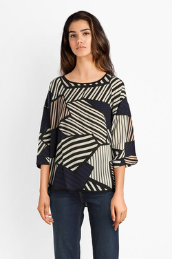 Blouse CHRISTINE LAURE A4316 Ecru