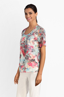 Tee-shirt CHRISTINE LAURE B0375 Ecru