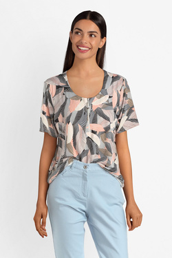 Tee-shirt CHRISTINE LAURE B0710 Rose