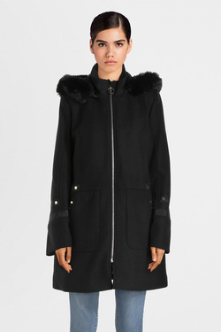 Manteau CHRISTINE LAURE B2117 Noir