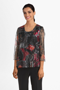 Tee-shirt CHRISTINE LAURE B2620 Noir