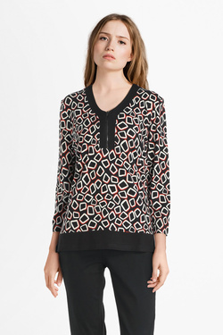 Blouse CHRISTINE LAURE B2606 Noir