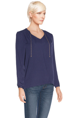 COLOR BLOCK - Blouse6114180Bleu marine