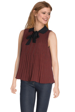 COLOR BLOCK - Blouse6214084Rouge