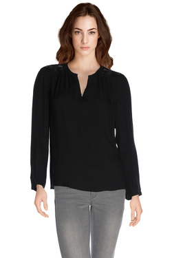COLOR BLOCK - Blouse6214137Noir