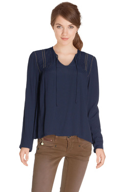 COLOR BLOCK - Blouse6216133Bleu marine