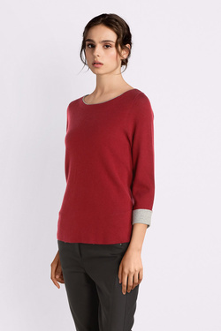 Pull COMMA 899.61.0902 Rouge