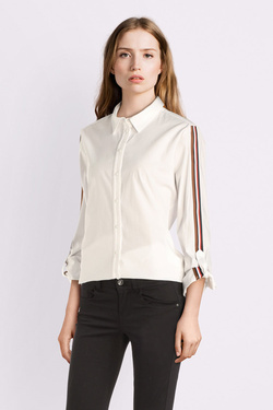 Chemise manches longues COMMA 908.11.2203 Blanc