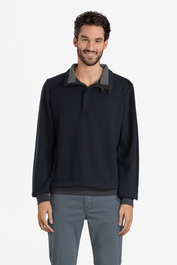 Sweat-shirt COMMANDER 213009888 Bleu marine