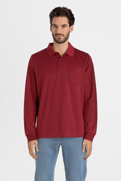 Polo COMMANDER 214007398 Rouge