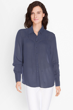 DDP - Chemise manches longuesF4WEKM7Bleu