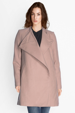 Manteau DDP F60RAD25 Rose