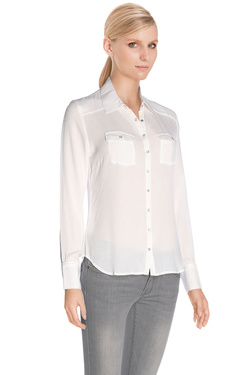 DDP - Chemise manches longuesF4WESM7Ecru