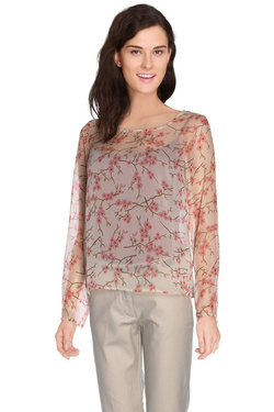 Blouse DDP F4COMP02 Beige