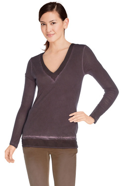 DDP - Tee-shirt manches longuesF1AST0C1Violet prune