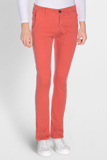 PANTALON CHINO EN COTON STRETCH DEELUXE