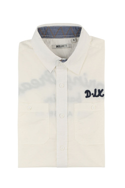 Chemise manches courtes DEELUXE S18430 Blanc