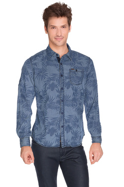 DEELUXE - Chemise manches longuesS16401Bleu
