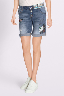 Short DESIGUAL 18SWDD33 DENIM_MAGALIE Bleu