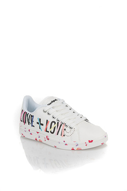Chaussures DESIGUAL 18SSKP08 SHOES_COSMIC GEOMETRY Blanc