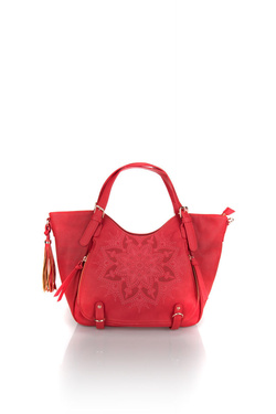 Sac DESIGUAL 18SAXPC4 BOLS_ANONYMOUS ROTTER Rouge