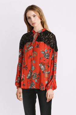 Blouse DESIGUAL 18WWBW38 BLUS_KETTY Rouge