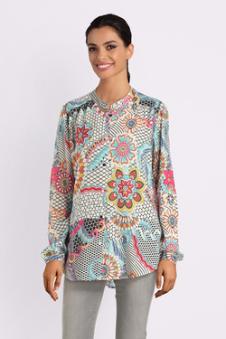 Chemise manches longues DESIGUAL 19SWCW05 CAM_VERENE Blanc