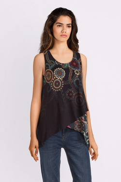 Tunique DESIGUAL 19SWTKAG TS_ARKANSAS Bleu