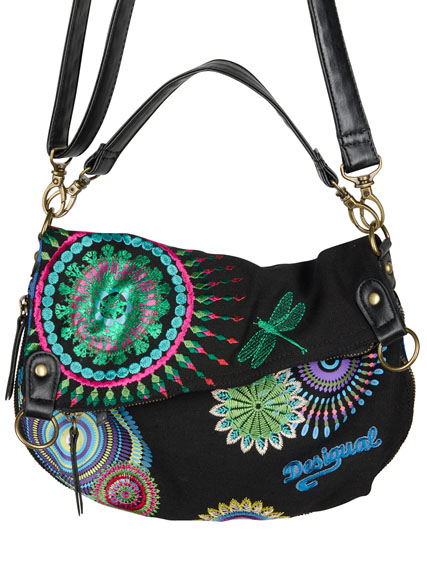 SAC A DOUBLE BANDOULIERE DESIGUAL