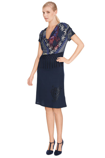 ROBE MANCHES COURTES DESIGUAL