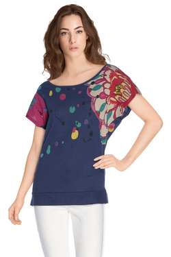 DESIGUAL Tee-shirt attente 2 61T25W3 KEISI