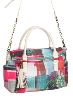 DESIGUAL Sac a main avec bandouliere rose 61X51Y7 LIBERTY WENDY