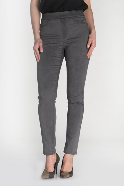 Pantalon jegging en tissu stretch