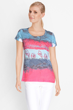 DIANE LAURY - Tee-shirt49DL2TS501Bleu turquoise