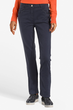 DIANE LAURY - Pantalon49DL2PS804Bleu marine