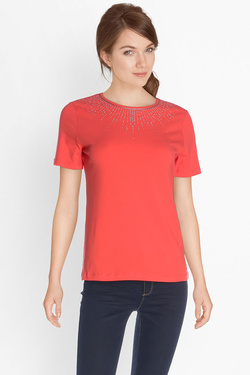 Tee-shirt DIANE LAURY 49DL2TS102 Rouge