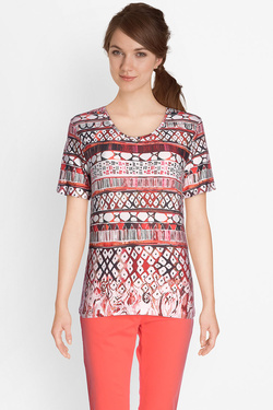 Tee-shirt manches longues DIANE LAURY 49DL2TS008 Rouge
