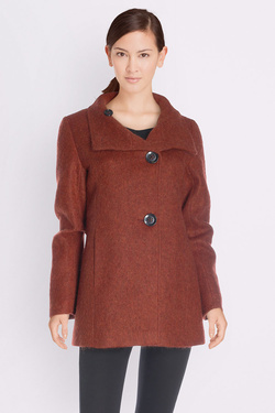 Manteau DIANE LAURY 50DL2MA962 Rouge bordeaux