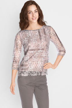 Tee-shirt manches longues DIANE LAURY 50DL2TS230 Rose