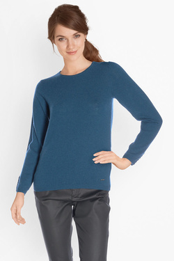 Pull DIANE LAURY 50DL2PU820 Bleu turquoise