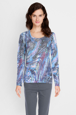 Tee-shirt manches longues DIANE LAURY 50DL2TS613 Violet