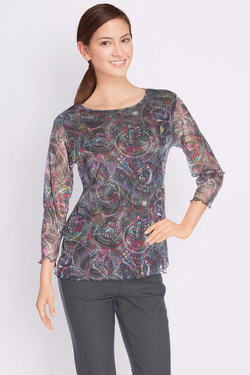 Tee-shirt manches longues DIANE LAURY 50DL2TS621 Violet