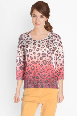 Tee-shirt manches longues DIANE LAURY 50DL2TS390 Rouge