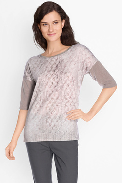 Pull DIANE LAURY 50DL2TS235 Taupe