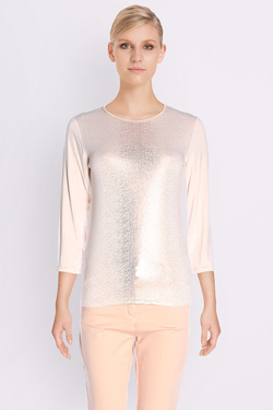 Tee-shirt manches longues DIANE LAURY 50DL2TS238 Rose pale
