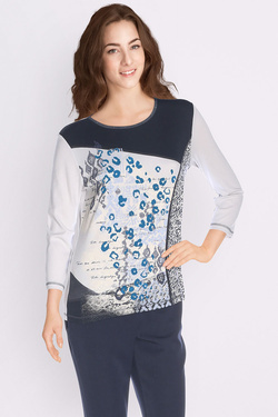Tee-shirt manches longues DIANE LAURY 50DL2TS545 Gris